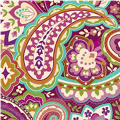 Plum Paisley Lunch Napkins 16ct