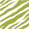 Avocado Zebra Print Lunch Napkins 16ct