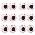 Bloodshot Eyeball Icing Decorations 24ct