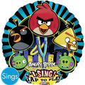 Foil Angry Birds Singing Balloon 28in
