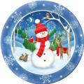 Snowman Platter