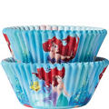 Little Mermaid Baking Cups 50ct