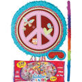 Pull String Hippie Chick Pinata Kit
