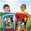 Mickey Mouse Potato Sack Race Bags 4ct