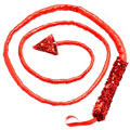 Sequin Devil Tail Whip