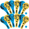 Batman Paddle Balls 12ct