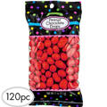 Red Peanut Chocolate Drops 120pc