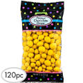 Yellow Peanut Chocolate Drops 120pc