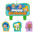 Bubble Guppies Birthday Candles 4ct