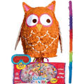 Pull String Owl Pinata Kit