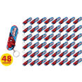 Spider-Man Skateboard Key Chains 48ct