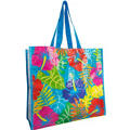 Rainbow Hibiscus Tote Bag