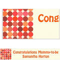 Custom Dotty Warm Banner 6ft