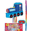 Pull String All Aboard 1st Birthday Pinata Kit