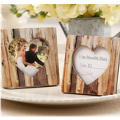 Rustic Tree Heart Picture Frame Place Card Holder