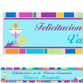 Custom Mi Primera Comunion Banner 6ft
