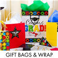 Graduation Gift Bags & Gift Wrap