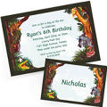 Custom Jungle Animals Invitations & Thank You Notes