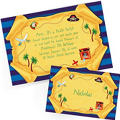 Custom Pirate Invitations & Thank You Notes