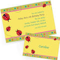 Custom Lady Bug Invitations & Thank You Notes