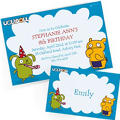 Custom Uglydoll Invitations & Thank You Notes
