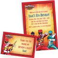 Custom Power Rangers Invitations & Thank You Notes