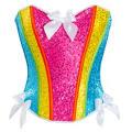 Sequin Rainbow Corset