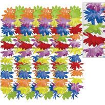 Rainbow Floral Leis 25ct
