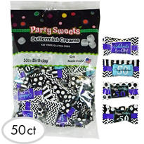 50th Birthday Pillow Mints 50ct