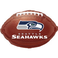 Seattle Seahawks Foil Balloon 18in