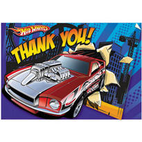 Hot Wheels Speed City Thank You Notes 8ct