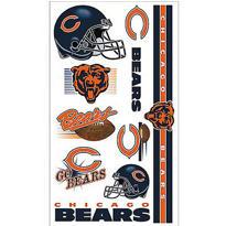 Chicago Bears Tattoos 10ct