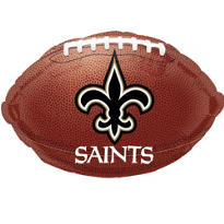 New Orleans Saints Foil Balloon 18in