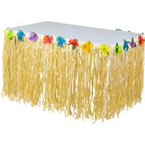 Luau Nylon Table Skirt