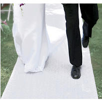 Floral Aisle Runner 100ft
