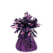 Purple Foil Balloon Weight 6oz