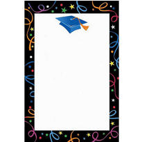 Grad Celebration Printable Graduation Invitations 12ct