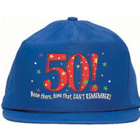 50th Birthday Baseball Hat - A Year to Celebrate