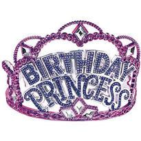 Birthday Princess Rhinestone Tiara