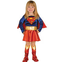 Toddler Girls Supergirl Costume - Superman