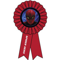 Spiderman Award Ribbon