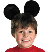 Plush Mickey Mouse Ears