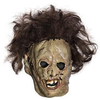 Child Latex Leatherface Mask