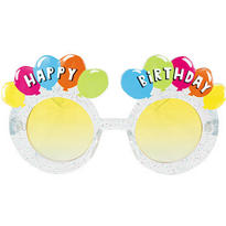 Yellow Balloon Birthday Sunglasses
