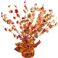 Fall Leaves Spray Centerpiece