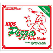 Kids Pizza Party Music CD