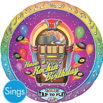 Happy Birthday Balloon - Singing Rocking
