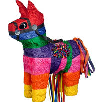 Pull String Burro Pinata 20in