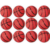 Basketball Bounce Balls 12ct