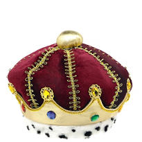 Child Velvet King Crown